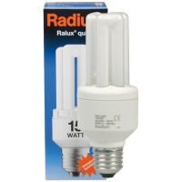 Energiesparlampe, E27,<BR>RALUX QUICK